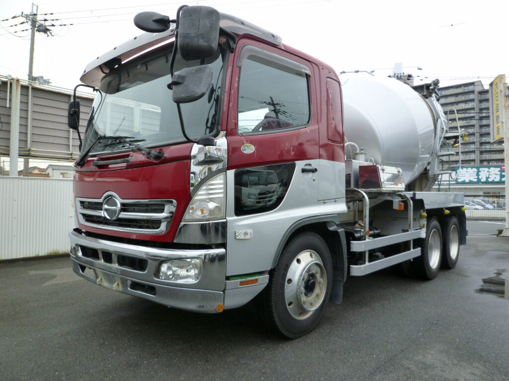 レンジャー 増増トン 8.6立米 積載量11,300㎏ 車検切(ナンバー付)